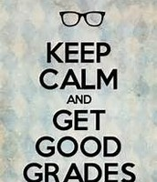 Get good grades this semester.