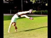 another thing that i do in gymnastics is a front handspring