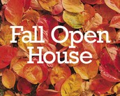 Attend a Fall Open House