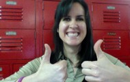 Ms. Jankov is excited!