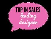 Top Sales by Rank- Leading Designer
