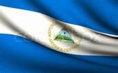The flag of Nicuaragua
