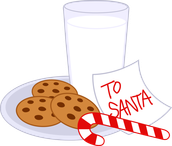 Cookies and Milk with Santa