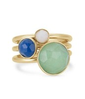 Florence Stacked Rings (size 6)