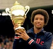 Arthur Ashe trophy