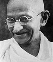 Mohandas Gandhi Strikes Back!