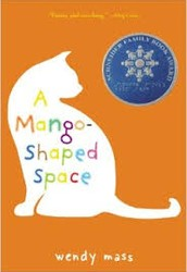 "I recommend that you read ""A Mango Shaped Space.""  It's about a thirteen year old girl with Synesthesia.  Mia Winchell sees colors and shapes with every sound and letter. One day she discovers that not everyone sees the world as she does."
