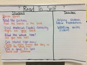 We created expectations for Read to Self.