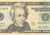 Andrew Jackson on the 20$ bill
