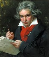 This portrait is by Joseph Karl Stieler in 1820.