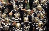 NFL Saints Team