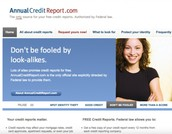 Annual Credit Report Request Service