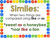 Similes meaning