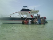 our boat for the day