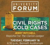 University Forum Speaker: Jerry Mitchell