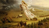 Painting of Manifest Destiny