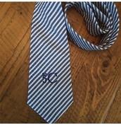 Men's Seersucker Tie