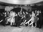 Modernists Dancing in a Jazz Club.