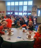 Kindergarten gingerbread houses