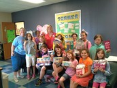Thank you Girl Scout Troop 1911 for all of the clinic supplies!!!