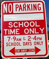 No Parking Zone added around campus by City of San Antonio
