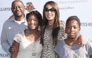 Forrest Whitaker & Family
