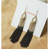Lilith Fringe Earrings