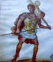 Romulus as a warrior