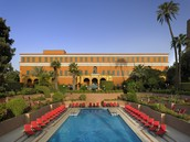Lodging- Cairo Marriott Hotel