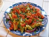 Aguacate ensalada