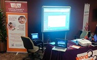 Booth at Educator Summit 2013