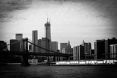 Picture of NYC Skyline