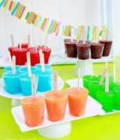 Jello Ice Popsicle