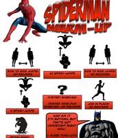 Spiderman Warm-Up