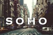 50 blocks south of drop-off