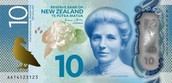 Kate Sheppard on the New Zealand 10 Dollar Note