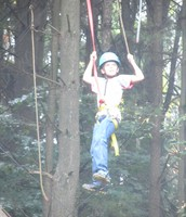 High ropes course!
