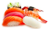 Areas where eating raw fish is popular, for example Japan.