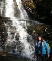 My Mother at Laurel Falls