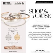 Shop for a Cause Starting Sept 10th - Oct 31st