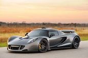 Dark Knight Grey Hennessey Venom GT