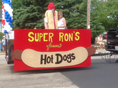Super Ron's in Parade