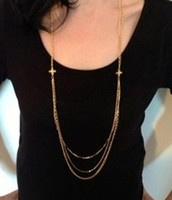 Libby Layering Necklace in Silver $35.00