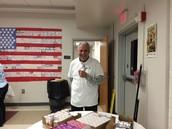 Mr. Bill-a Happy CRO-V Volunteer