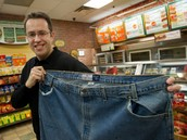 Man who lost weight from eating Subway