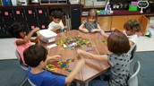 Exploring math manipulatives!