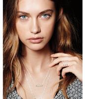 Rebel Cluster Necklace--Silver
