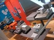 Various Modern Cash Registers