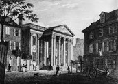 The Bank of the US received a charter in 1791
