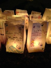 Pleasant Street Student Makes her Mark at Relay for Life